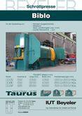 Scrap press  TAURUS BB 44 stati