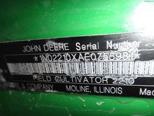 2014 John Deere 2210 - 50'