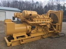 Used Cat 500 KW Gene