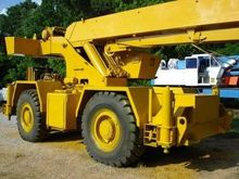 1978 Grove Rough Terrain Cranes