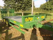 2015 20FT 19TON LOW LOADER TRAI