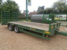 2014 20FT 19T LOW LOADER TRAILE