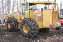 1995 John Deere 643D Wheel type