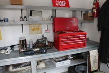 Custom built 8' x 20' work shop