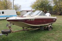 1983 Fibertech 16ft boat
