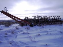 1997 Riteway 6000 Harrow Packer