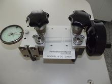1983 Gockel+Co. FPM Perforation