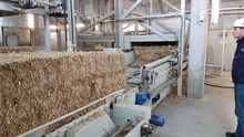 Tietjen SAA Straw bale shredder