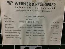 2002 WP Unitherm Rack ovens
