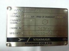 2010 Yanmar 6EY18AL Generators