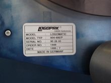 logopak logomatic 804-400/P lab