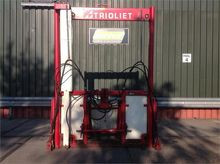 2005 Trioliet TU 170 Bale shred