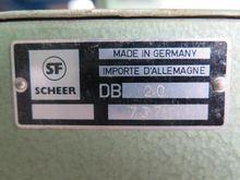 Used Scheer DB 20 Li