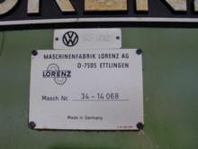 1981 LORENZ LF 151 Gear Milling