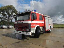 1990 Scania 93 280 Fire engine