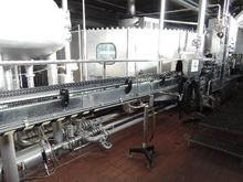 filling machine for glas and PE