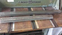 E.BICKEL groove machine