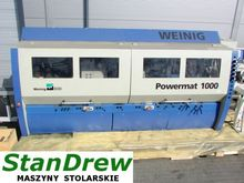 Used Weinig Powermat