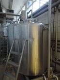 1.500 l Stainless steel tanks