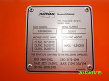 2012 Doosan Radlader DL 250