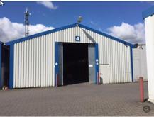 52-12 Steel shed - storage ware