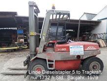 Linde H 50 Diesel forklift truc