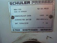 1992 SCHULER MRH100 Coin Calibr