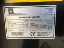 2011 JCB G45QX Electricity prod