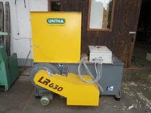 2007 Untha LR630 wood shredder