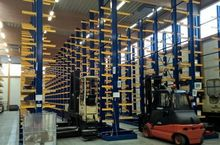 2013 GEMAC Cantilever racking f