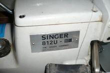 2000 SINGER Kl. 812 U Overlock