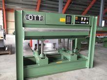 OTT ST 2211 veneer press, heati