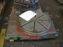1976 LINDNER 600 Rotary Table