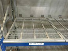 Major push guard F. pallet rack