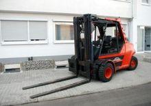 Linde H80T-900-353 Gas forklift