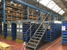 1991 SSI Schaefer FR 0 Shelving