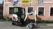 2016 Bobcat E17 Mini excavators