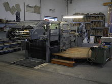 1970 Bobst SP 1260E Punching ma