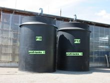 Used chemical tank h