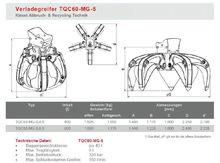 Kiesel Verladegreifer TQC60 - 6