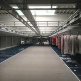 Hillside store for clothing, ab