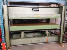 1970 Joos HP 65 Veneering press