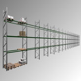 BITO Pallet rack - 7140 x 47700