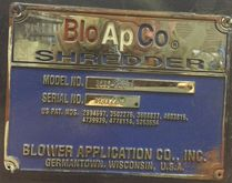 1997 Bloapco 3CXS2558-H Shredde