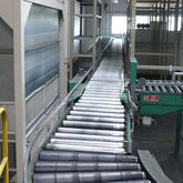 Arnold Roller conveyor with fla