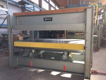 1981 Joos HP 90 Veneering press
