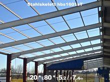 1988 A1 Steel shed Portal frame