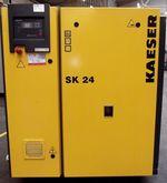 Kaeser SK24 screw compressor