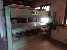 Ott JU80 Veneering presses