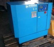 2002 Boge S 8 srew compressor